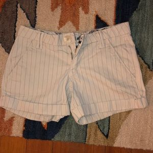 Pants - Pin stripe shorts